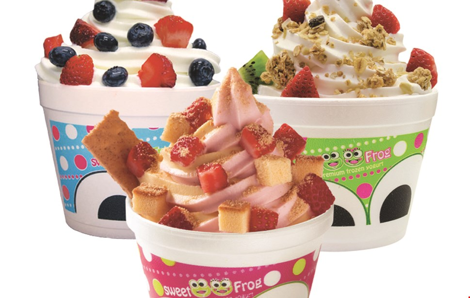 Product image for Sweet Frog $10 For $20 Worth Of Frozen Yogurt