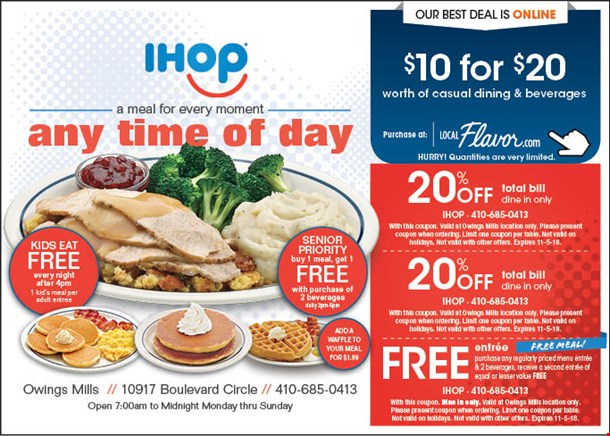 ihop coupons september 2019