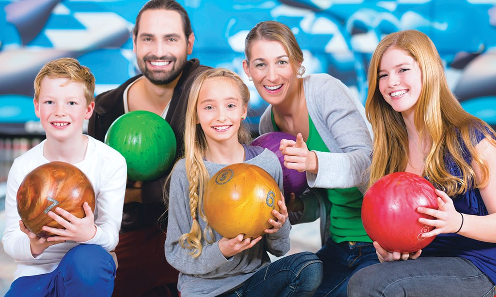 Product image for HINK ENTERPRISES, INC $35 For A 90-Minute Bowling Package For 6 People Including Shoe Rental (Reg. $70.50)