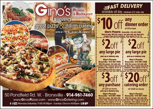 Local flavor restaurant coupons