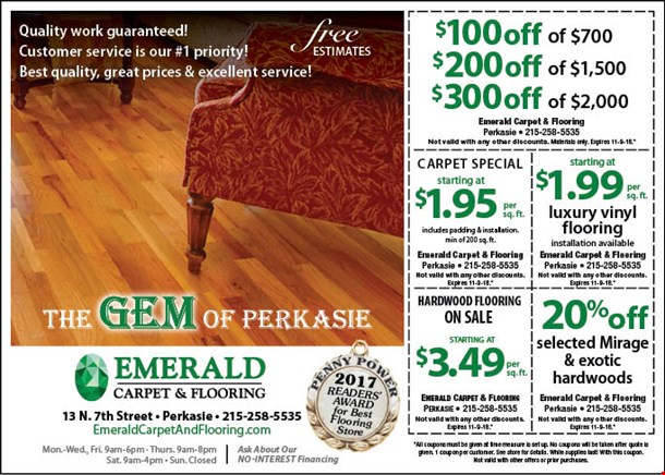 Localflavor Emerald Carpet And Flooring Coupons