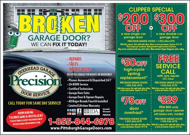 Localflavor Precision Garage Doors Coupons