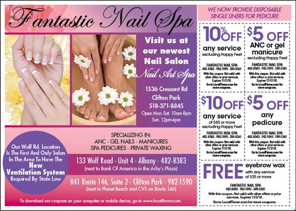Localflavor Fantastic Nail Spa Coupons