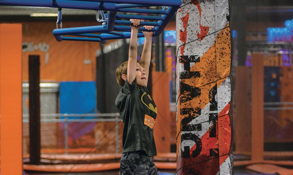 Product image for Sky Zone - Chalfont $17 For 2 1-Hour Jump Passes (Reg. $34)