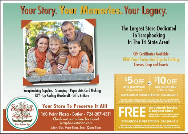 Localflavor Scrapbook Station Coupons