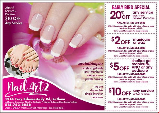 Localflavor Nail Art 2 Coupons