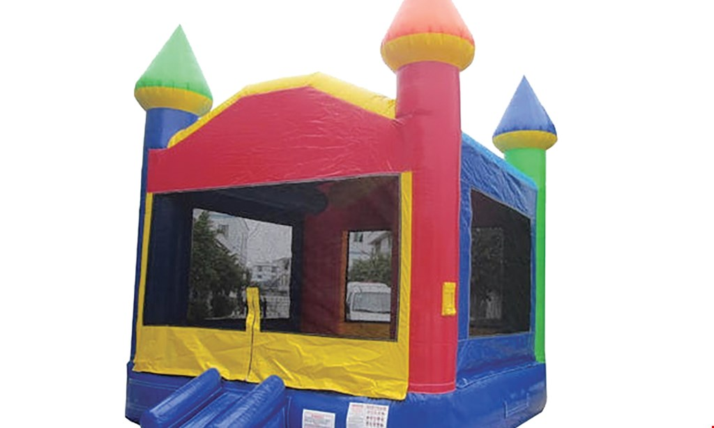 Product image for A & R Rental Center $74.50 For A One Day Bounce House Rental - Over The Counter (Reg. $149)