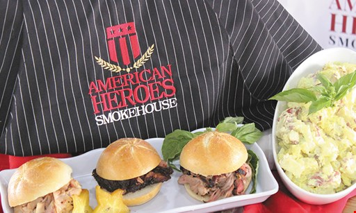Product image for American Heroes Smokehouse $10 For $20 Worth Of Casual Dining