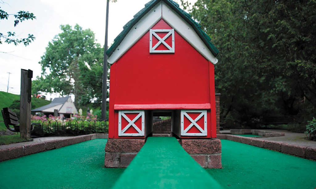 Product image for Fairmount Glen Miniature Golf $18 For 1 Round Of Miniature Golf For 4 People (Reg. $36)
