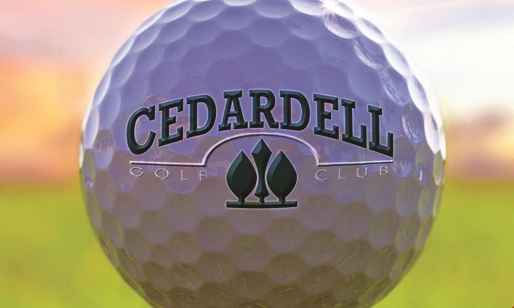 Product image for CEDARDELL GOLF CLUB $30 For 9 Holes Of Golf For 2 With Cart (Reg. $60)