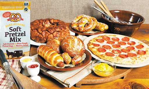 Product image for Dutch Country Soft Pretzels $10 For $20 Worth Of Soft Pretzels, Nuggets, Sticks, Pretzel Wraps & More