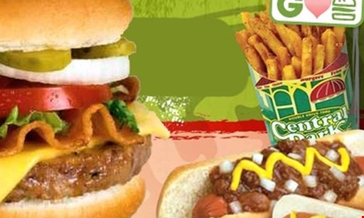 Product image for Central Park Hamburgers $7.50 for $15 Worth of Burgers & More