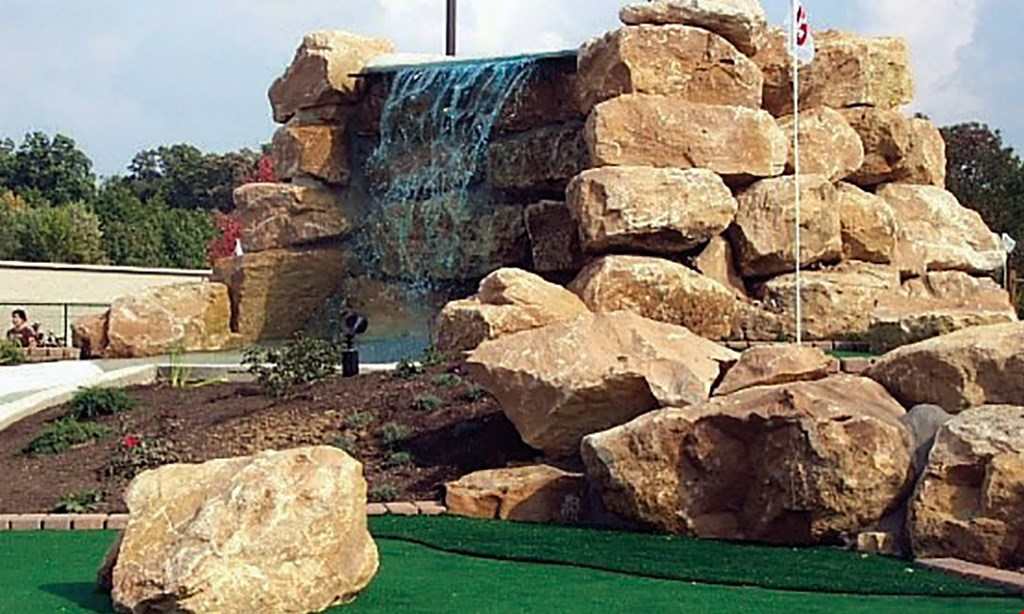 Product image for Hazzards Miniature Golf $15 For $30 Worth Of Miniature Golf For 4 People