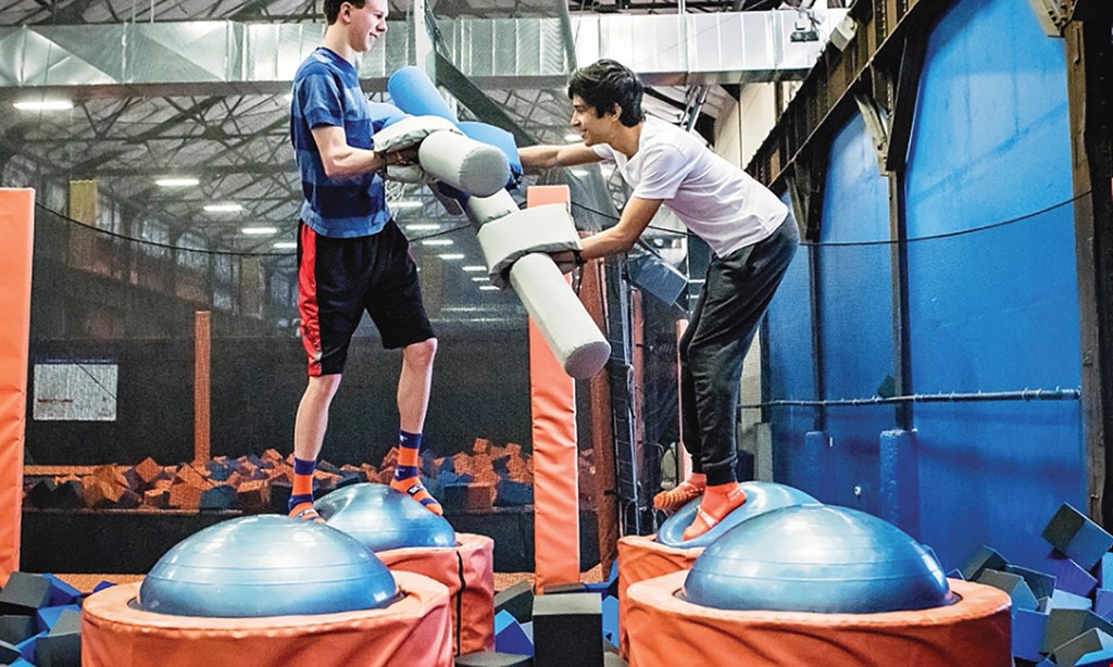 Product image for Sky Zone Trampoline Park $17 For 1-Hour Jump Passes For 2 (Reg. $34)