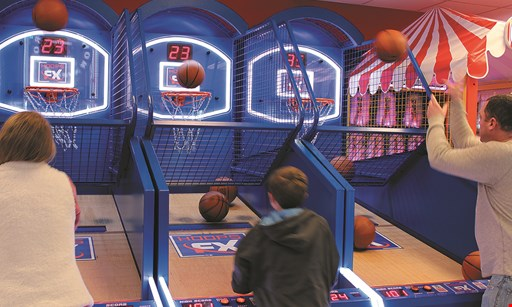 Product image for Laser Bounce of Glendale, Queens $20 For A Play Package With 2-Hour Unlimited Video Game Card, 1 Game Of Bowling & 1 Ride on 3D Simulator (Reg. $41.90)