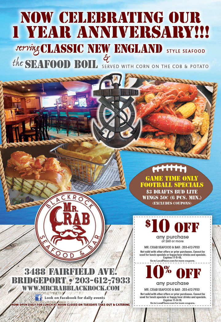 Mr crab seafood bar fairfield avenue bridgeport ct