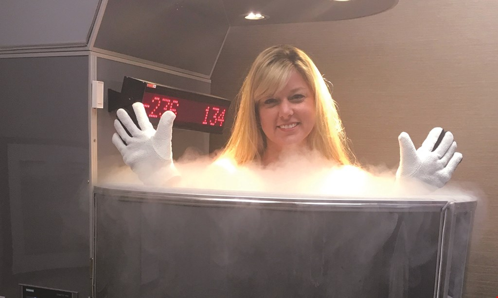 Product image for Lancaster Cryotherapy $20 For A 2-Minute Trial Cryotherapy Session & A 30-Minute Normatec Compression Therapy Session (Reg $45)