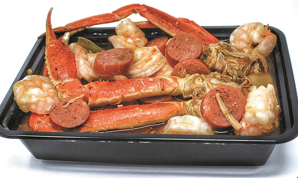 Product image for The Supreme Plate $10 For $20 Worth Of Creole & Seafood Fare