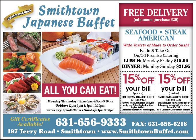 localflavor com smithtown japanese buffet coupons rh localflavor com Pizza Hut Buffet Coupons Hometown Buffet Coupons 2018