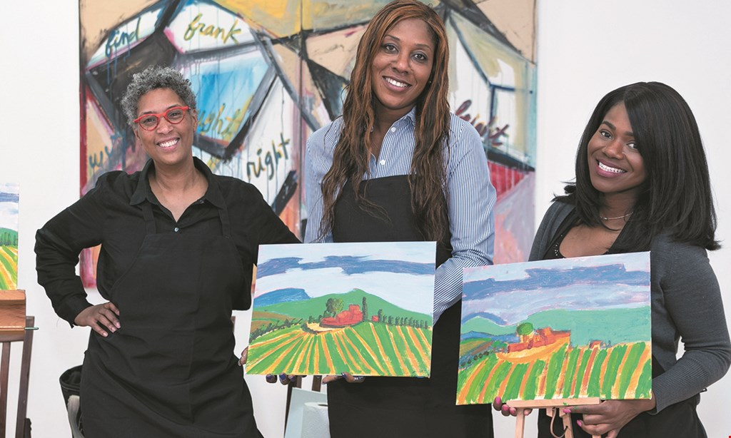 Product image for Lord and Andra $34.50 For A Sip & Paint Party (Reg. $75)