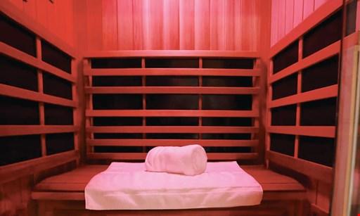 Product image for Live Well Sauna + Salt $35 For 1 Infrared Sauna Session & 1 Salt Spa Session (Reg. $70)
