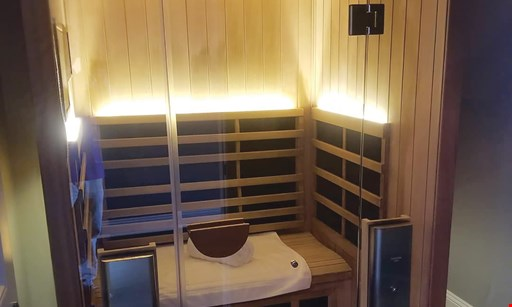 Product image for Live Well Sauna + Salt $35 For 1 Infrared Sauna Session & 1 Salt Spa Session (Reg. $70)