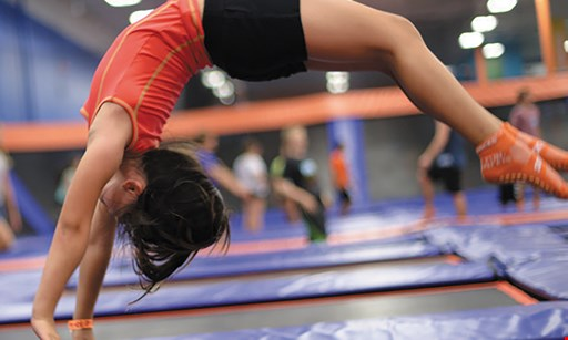 Product image for Sky Zone Indoor Trampoline Park $23 For 2 120-Minute Jump Passes (Reg. $46)