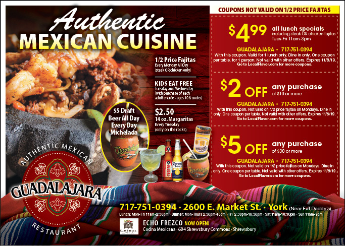 Been to El Saguarito Mexican? Share your experiences!