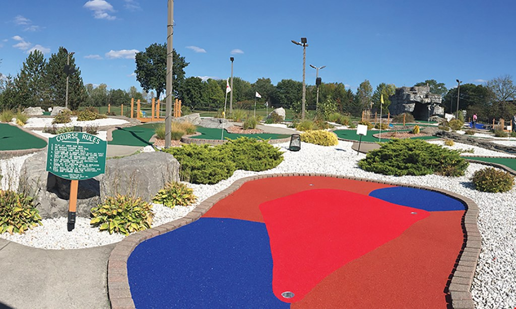 Product image for Hickory Hill Miniature Golf $17 For 1 Round Of Mini Golf For 4 People (Reg. $34)