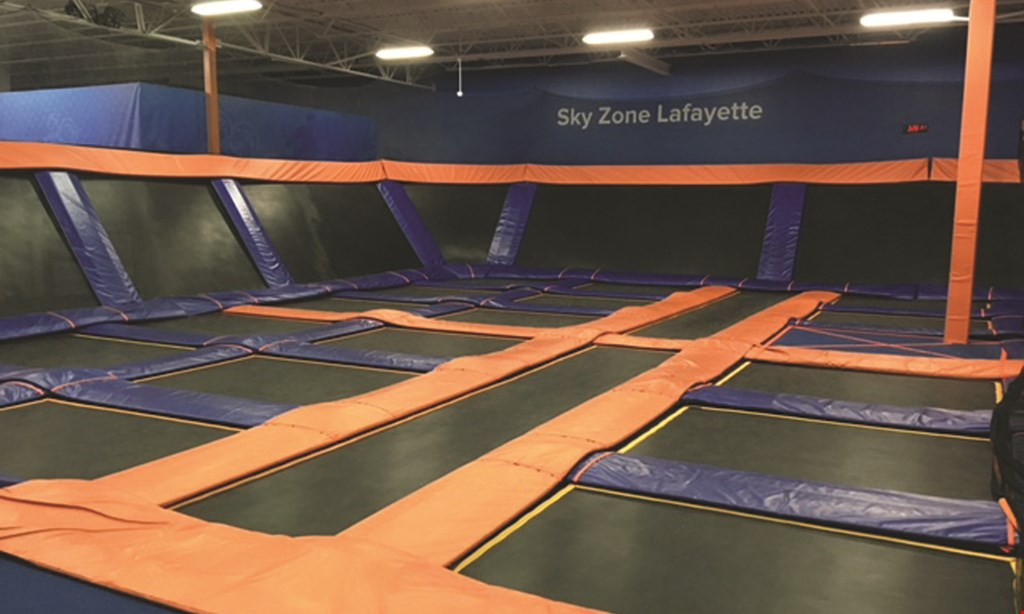 Product image for Sky Zone Lafayette $11 For 2 Hours Of Flight Time For 1 Person (Reg. $22)