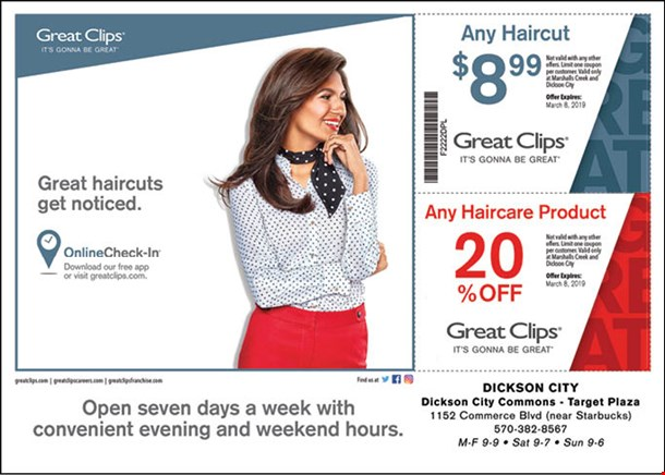 Localflavor Great Clips Coupons