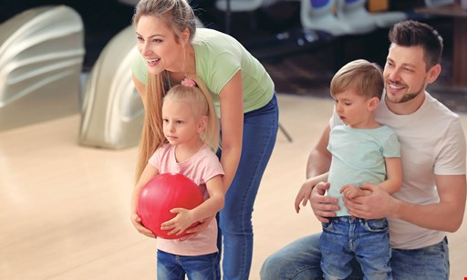 Product image for New City Bowl & Batting Cages $42.50 For A Family Fun Package Of 8 Games, 4 Shoe Rentals, 1 Large Basket Of Fries & 1 Pitcher Of Soda (Reg. $85)