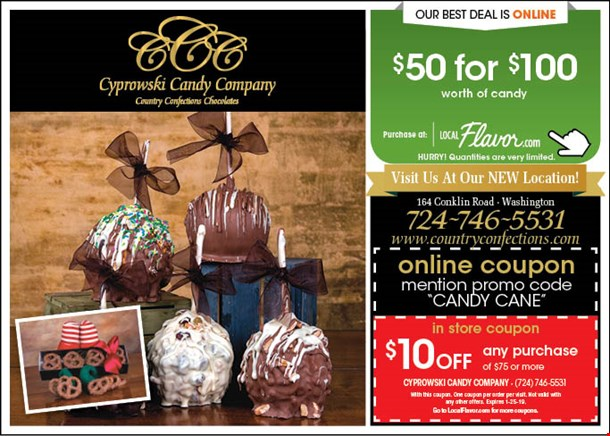 Localflavor Com Cyprowski Candy Company Country Confections