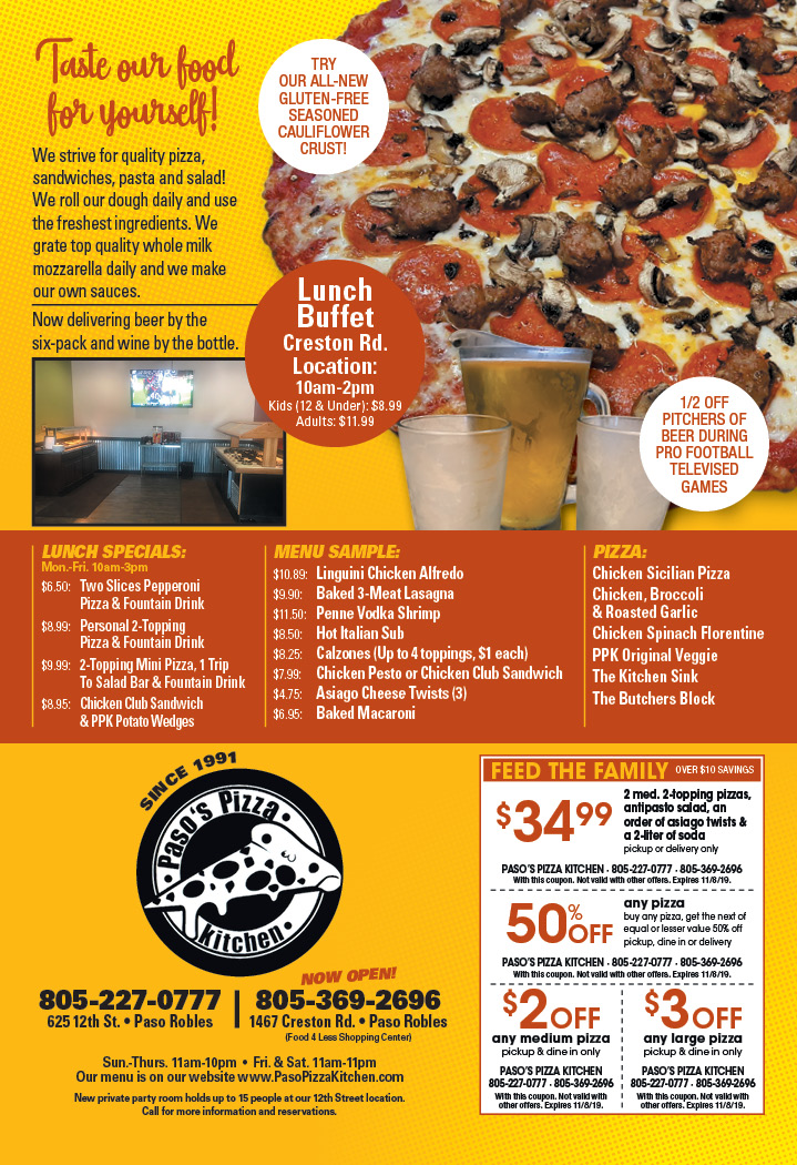 paso robles pizza kitchen coupons