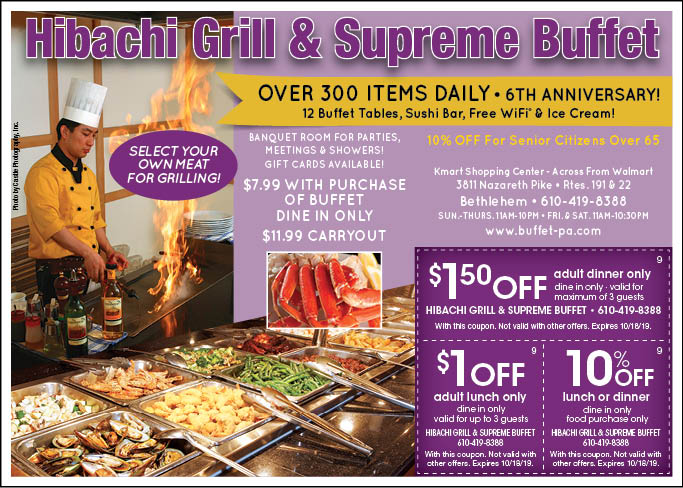 image regarding Hibachi Grill Supreme Buffet Coupons Printable named - Hibachi Grill and Final Buffet Coupon codes