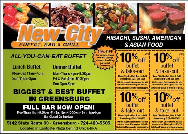 Strange Localflavor Com New City Buffet Bar And Grill Coupons Beutiful Home Inspiration Truamahrainfo