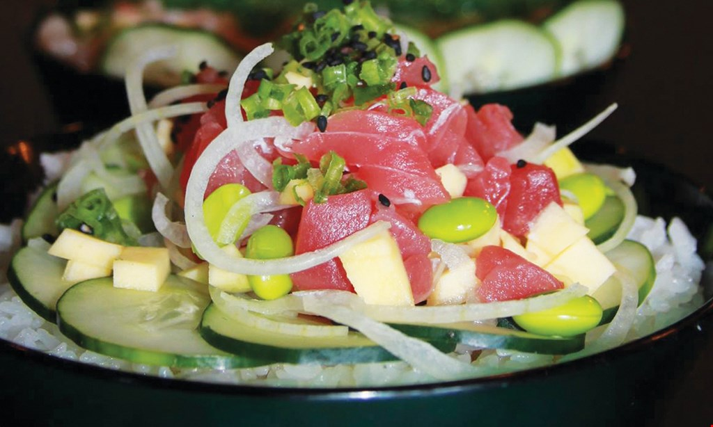 Product image for Tomo Poke Bowl $6 for $12 Worth of Fresh, Healthy, & Mouth-Watering Poke Bowls!