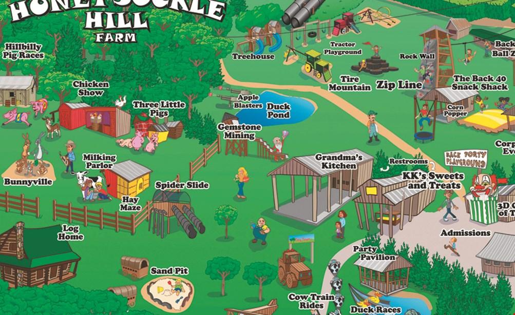 Product image for Honeysuckle Hill Farm $24.98 For A Single 2020 Season Pass (Valid Sept 26th-Nov 1st 2020)(Reg. $49.95)