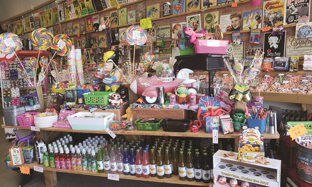 Product image for Rocket Fizz $10 For $20 Worth Of Candy & More (Purchaser will receive 2-$10 certificates)