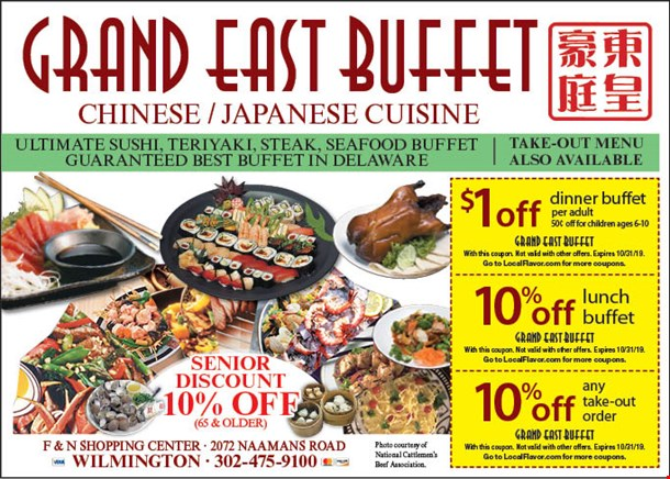Localflavorcom Grand East Buffet Coupons