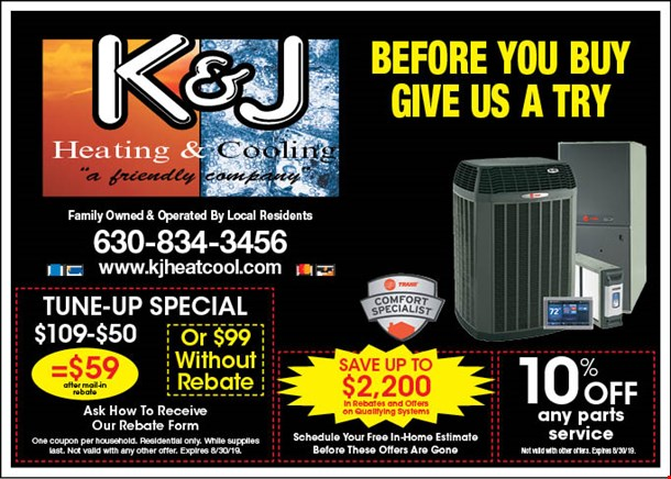 LocalFlavor com - K and J Heating and Cooling Coupons