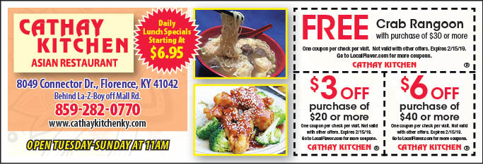 restaurant coupons florence ky