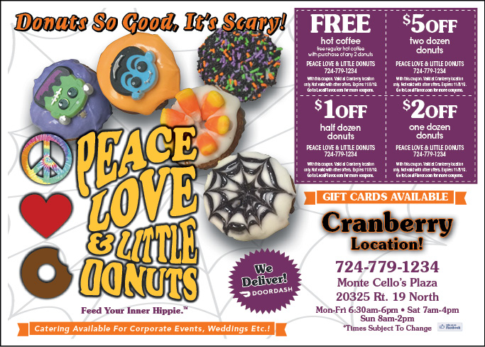 peace love little donuts coupons