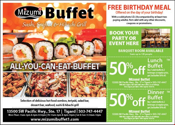 Outstanding Localflavor Com Mizumi Buffet Coupons Download Free Architecture Designs Embacsunscenecom