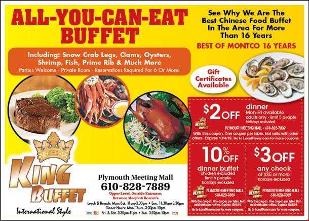 Surprising Localflavor Com King Buffet Coupons Home Interior And Landscaping Oversignezvosmurscom