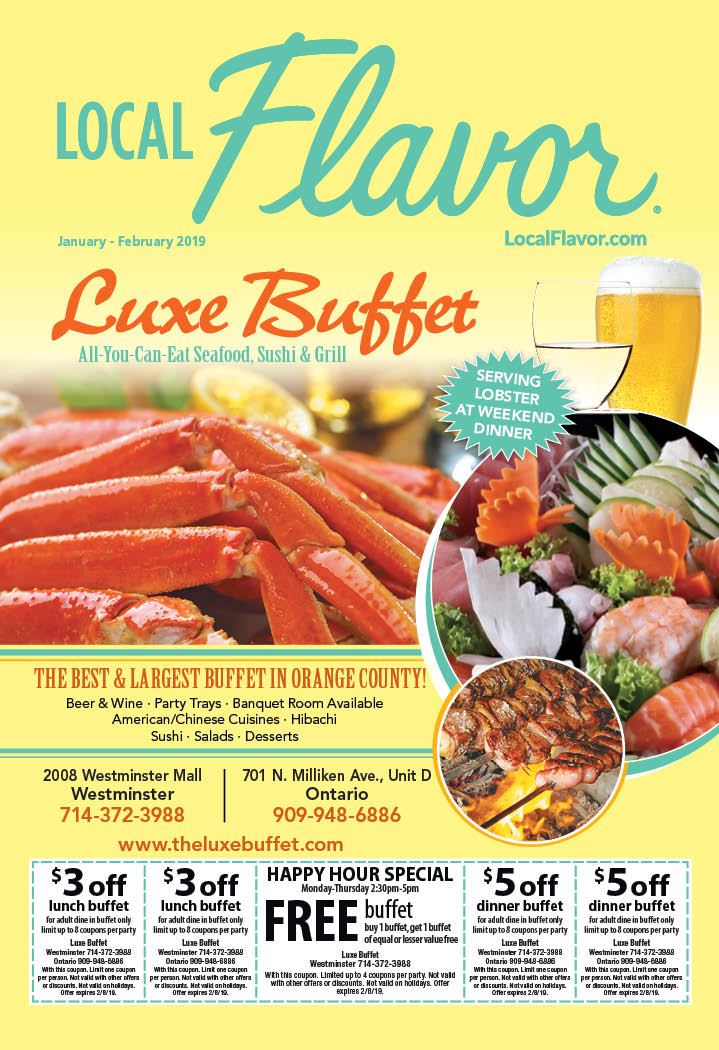 image about The Luxe Buffet Printable Coupon titled Buffet Criativas: Luxe Buffet Ontario
