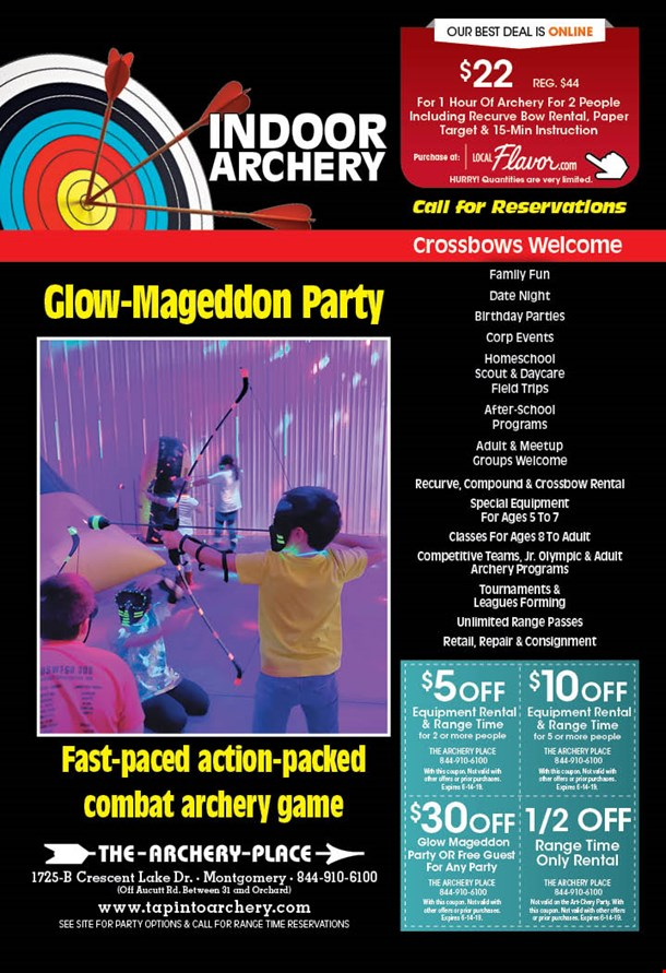 LocalFlavor com - The Archery Place - $22 For 1 Hour Of Archery For