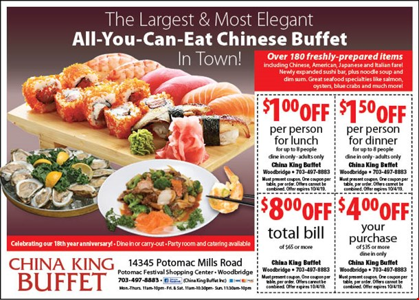 Surprising Localflavor Com China King Buffet Coupons Best Image Libraries Barepthycampuscom
