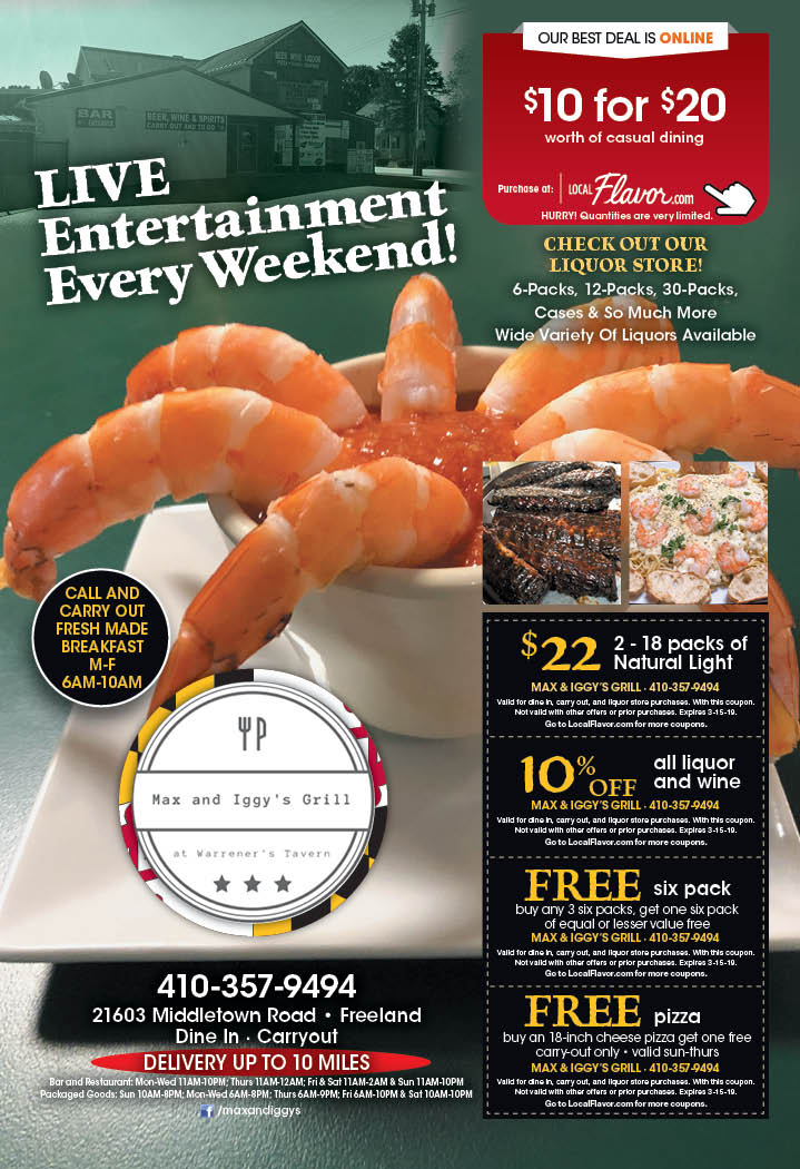 freeland seafood coupons