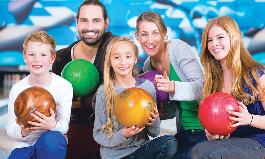 Product image for Our Town Alley $48 For 2 Games Each Of Bowling For Up To 6 People With Shoe Rental (Reg $96)